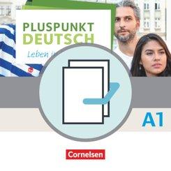 Pluspunkt Deutsch - Leben in Deutschland, Neu: Kursbuch mit Video-DVD (Gesamtband) und Arbeitsbuch (Gesamtband) mit Audio-CD, 2 Bde.; A1
