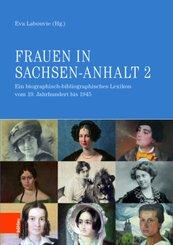 Frauen in Sachsen-Anhalt - Bd.2