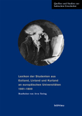 Lexikon der Studenten aus Estland, Livland und Kurland an europäischen Universitäten 1561-1800