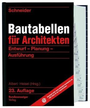 Schneider - Bautabellen für Architekten