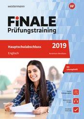 Finale Prüfungstraining 2019 - Hauptschulabschluss Nordrhein-Westfalen, Englisch mit Audio-CD