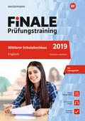 Finale Prüfungstraining 2019 - Mittlerer Schulabschluss Nordrhein-Westfalen, Englisch mit Audio-CD