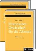 Historisches Ortslexikon für die Altmark, 2 Bde.