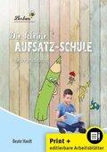 Die kleine Aufsatz-Schule: Bildergeschichten, m. CD-ROM