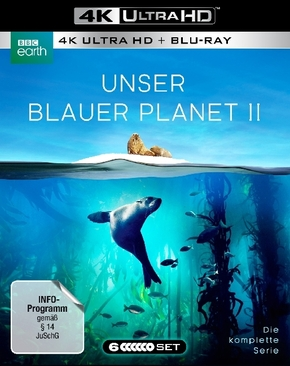 Unser blauer Planet 2 4K, 6 UHD- Blu ray