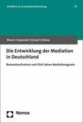 Die Entwicklung der Mediation in Deutschland