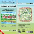 NaturNavi Wanderkarte mit Radwegen Oberes Donautal