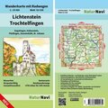 NaturNavi Wanderkarte mit Radwegen Lichtenstein - Trochtelfingen