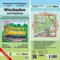 NaturNavi Wanderkarte mit Radwegen Wiesbaden und Umgebung