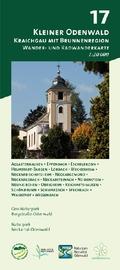 Odenwald Freizeitkarte Kleiner Odenwald - Kraichgau mit Brunnenregion