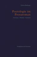 Poetologie im Prosaroman
