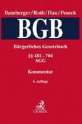 Kommentar zum Bürgerlichen Gesetzbuch (BGB):    481-704, AGG; Bd.2