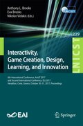 Interactivity, Game Creation, Design, Learning, and Innovation