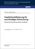 Kapitalmobilisierung für nachhaltige Entwicklung