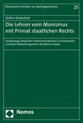 Die Lehren vom Monismus mit Primat staatlichen Rechts