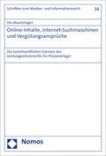 Online-Inhalte, Internet-Suchmaschinen und Vergütungsansprüche