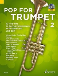 Pop For Trumpet with additional 2nd part, w. Audio-CD - Vol.2