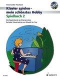 Klavier spielen - mein schönstes Hobby, Spielbuch m. Audio-CD - Bd.2
