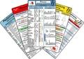Arztpraxis Karten-Set, 5 Medizinische Taschen-Karten