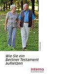 Wie Sie ein Berliner Testament aufsetzen