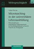 Microteaching in der universitären Lehrerausbildung