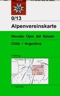 Alpenvereinskarte Nevado Ojos del Salado