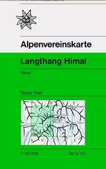 Alpenvereinskarte Langthang Himal West
