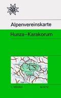 Alpenvereinskarte Hunza - Karakorum