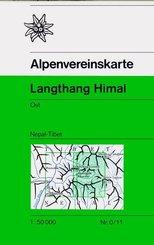 Alpenvereinskarte Langthang Himal, Ost