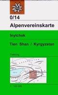 Alpenvereinskarte Inylchek - Tienschan-West / Kyrgyzstan