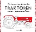 Österreichische Traktoren zum Ausmalen