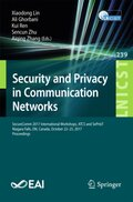 Security and Privacy in Communication Networks