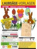 Laubsäge-Vorlagen Ostern