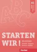 Starten wir! A1 - Glossar Deutsch-Englisch