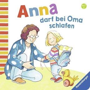 Anna darf bei Oma schlafen