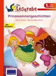Prinzessinnengeschichten - Leserabe 1. Klasse - Erstlesebuch für Kinder ab 6 Jahren