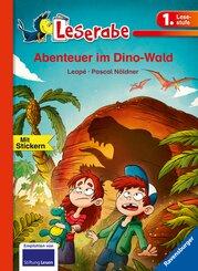 Abenteuer im Dino-Wald - Leserabe 1. Klasse - Erstlesebuch für Kinder ab 6 Jahren