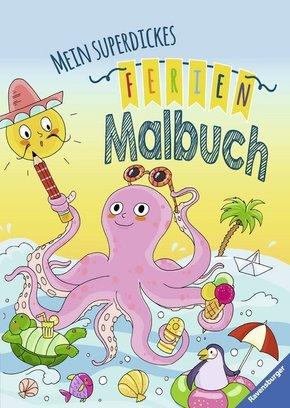 Mein superdickes Ferienmalbuch