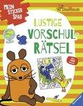 Mein Sticker Spaß - Die Maus: Lustige Vorschulrätsel