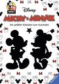 Micky Maus; Micky und Minnie - Die größten Klassiker zum Ausmalen
