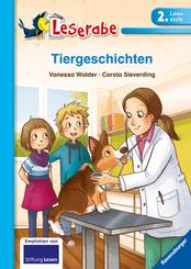 Tiergeschichten - Leserabe 2. Klasse - Erstlesebuch für Kinder ab 7 Jahren