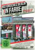 Historisches Berlin in Farbe - Hitlers Berlin in Farbe - 1933-1945 - 2er-Schuber, 2 DVD