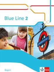 Blue Line, Ausgabe Mittelschule Bayern 2017: 6. Klasse, Schülerbuch; Bd.2