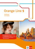 Orange Line. Ausgabe ab 2014: 9. Klasse, Workbook mit Audio-CD; Bd.5