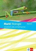 Markl Biologie Oberstufe, Bundesausgabe ab 2018: Arbeitsheft Zelle und Stoffwechsel Klassen 10-12 (G8), Klassen 11-13 (G9)