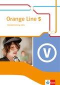 Orange Line, Ausgabe 2014: 9. Schuljahr, Vokabeltraining aktiv mit Lösungsheft; Bd.5