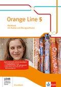 Orange Line. Ausgabe ab 2014: 9. Klasse, Workbook Grundkurs mit Audio-CD und CD-ROM; Bd.5