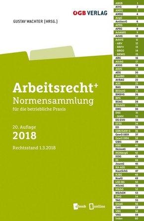 Arbeitsrecht+ (f. Österreich), Ausgabe 2018