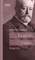 Gustav Falke: Biografie