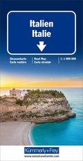 Kümmerly & Frey Karte Italien / Italie; Italy / Italia